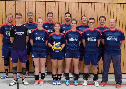 171205 Volleyball Gruppenbild